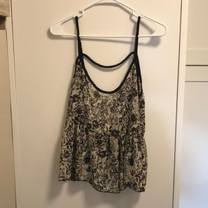Abound low back tank top